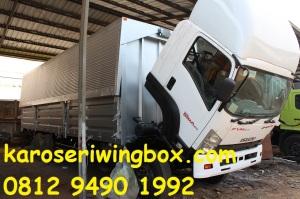 Karoseri wingbox proses finishing