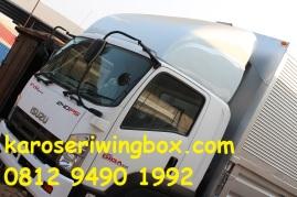wing deflektor kabin karoseri wingbox