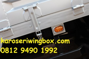booster dinding pintu samping karoseri wingbox