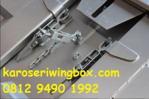 Pengunci dinding samping karoseri wingbox