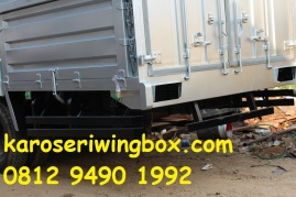 rear over hang perisai kolong karoseri wingbox